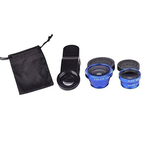 Universal 3-in-1 180°Fisheye Lens (Blue) - 6