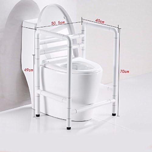 浴室用手すり 馬瓶の助力棚ステンレス安全高齢者の妊婦が身体障害者を起こして便器の手すりに乗る,白