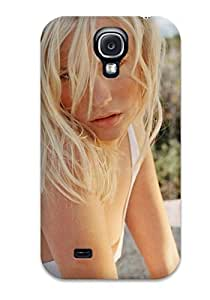 Tpu Shockproof/dirt-proof January Jones Hot Blonde Blue Yes Summer Betty Draper Francis Emma Frost Mad Men Xmen First Class People Women Cover Case For Galaxy(s4)