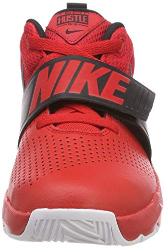 Team Black Red 602 Mehrfarbig Nike Hustle white Jungen D University Basketballschuhe 8 GS 5fHvwTx1q