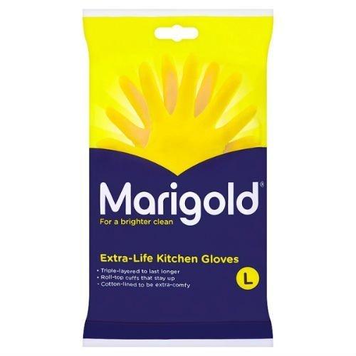 Marigold Extra Life Kitchen Gloves Large Case of 6