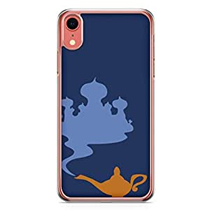 Loud Universe Aladdin and Jasmine Palace Genie Lamp iPhone XR Case Aladdin Classic Cartoon Network iPhone XR Cover with Transparent Edges