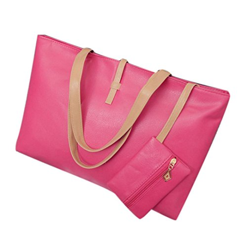 Besaces ESAILQ à Rose bandoulière Hobo épaule sac Lady Sac main bourse Nouveau Sac gqagnxr87
