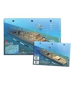 Amazon.com : USS Oriskany (Deck Plan) 3D Scuba Diving