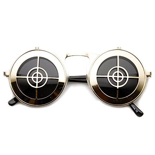 zerouv-full-metal-flip-up-bullseye-target-crosshair-steampunk-sunglasses-gold