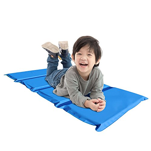 Cheap Soft Comfy Reliable And Durable Easy Clean, Disinfect And Store Peerless Plastics Blue/Teal KinderMat, 2″ x 19″ x 44″ – Perfect For School Naps
