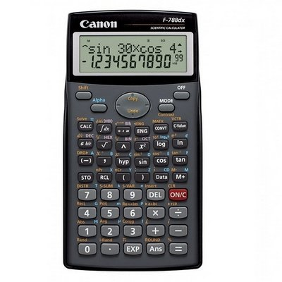 Canon 12桁関数電卓F - 788dx、パック1個。   B01E584M24