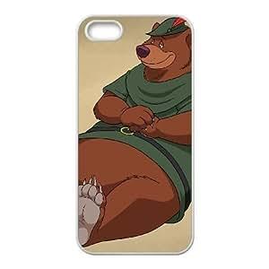 iPhone 4 4s Cell Phone Case White Disney Robin Hood Character Little John Enzxs