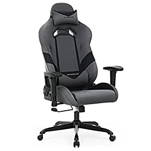 Songmics racing silla de escritorio para gamers silla de for Cojin lumbar silla oficina
