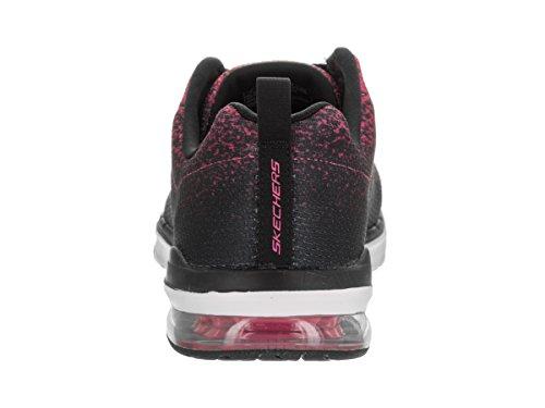 Skechers Skech-Air Infinity Womens Sneaker Black / Hot Pink VORnoTV1c