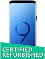 Renewed Samsung Galaxy S9 Plus Coral Blue 6GB RAM 64GB Stor