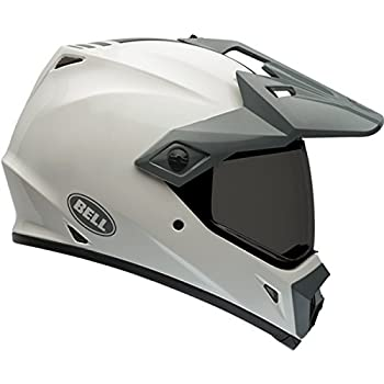Bell MX-9 Adventure Full-Face Motorcycle Helmet (White, Large)(Non-Current Graphic)
