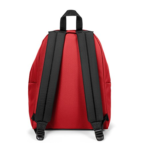 Eastpak Padded Pak'R Mochila, 24 litros, Negro (Black Denim) Multicolor (Apple Pick Red)