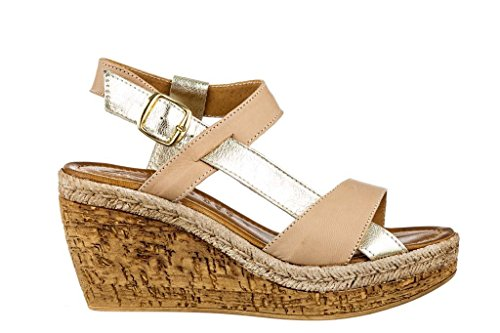 Sandali donna in pelle per l'estate scarpe RIPA shoes made in Italy - 09-678