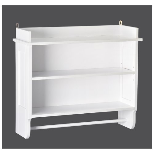 Redmon Contemporary Country Collection Wall Shelf, White by Redmon (Image #1)