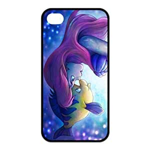 Mystic Zone Disney Classic The Little Mermaid For Case HTC One M7 Cover PC Back Cover Cartoon Fits Case KEK1529
