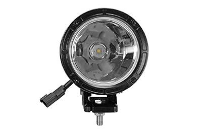 """25 Watt High Intensity LED Spotlight - 12-32V DC - 1000ft Long Spot Beam - 4.5""""OD Light Head"""