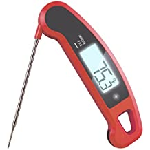 Ultra-High Performance Professional Digital Food/BBQ/Meat Thermometer - Lavatools Javelin PRO® (Chipotle) Color: Chipotle, Model: PX1 , Home & Outdoor Store