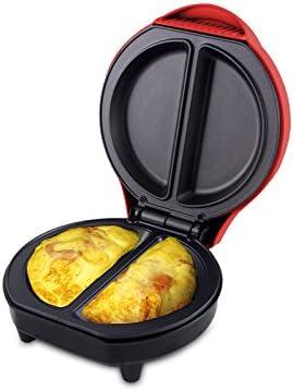 Rosso Acrilico Beper 90.606 Omelette Maker