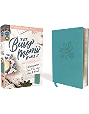 NIV, The Busy Mom's Bible, Leathersoft, Teal, Red Letter, Comfort Print: Daily Inspiration Even If You Only Have One Minute