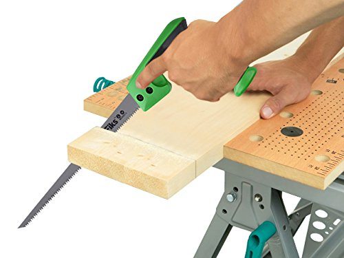 "WilFiks Razor Sharp 12"" Compass Saw, Pro Hand Saw, Keyhole Saw, Perfect For Sawing, Trimming, Gardening, Pruning & Cutting Wood, Drywall, Plastic Pipes & More, Comfortable Ergonomic Non-Slip Handle by WilFiks (Image #4)"