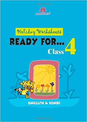 Buy Holiday Worksheet for Class IV [ENGLISH & HINDI] Book Online at ...