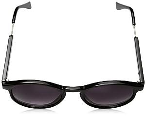 A.J. Morgan Jam Oval Sunglasses, Black, 50 mm