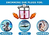 PQ Ear Plugs for Swimming - Swimming Ear Plugs for