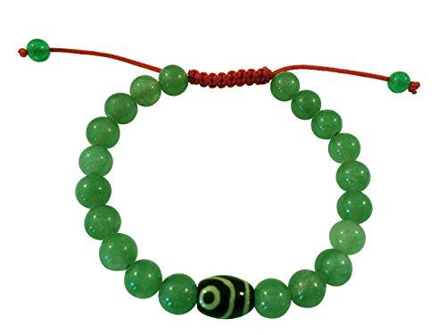 Tibetan Green wrist bracelet Meditation product image