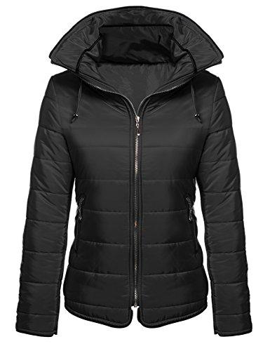 Usa Girls Black Down Jacket - 9