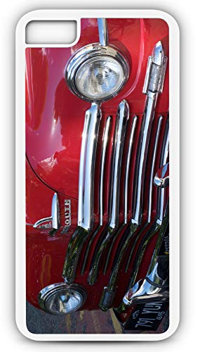 - iPhone 7 Case 1948 Plymouth Special De Lux Coupe Classic Car Deluxe Customizable by TYD Designs in White Plastic Black Rubber Tough Case