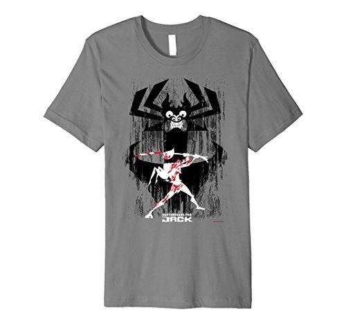 Sword Fight Splatter Premium T-Shirt (Splatter Premium T-shirt)