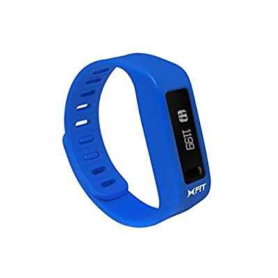 Xtreme Cables XFit Fitness Watch for Smartphones - Blue