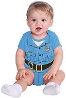 Rubie's Costume My First Halloween Police Officer Onesie Costume