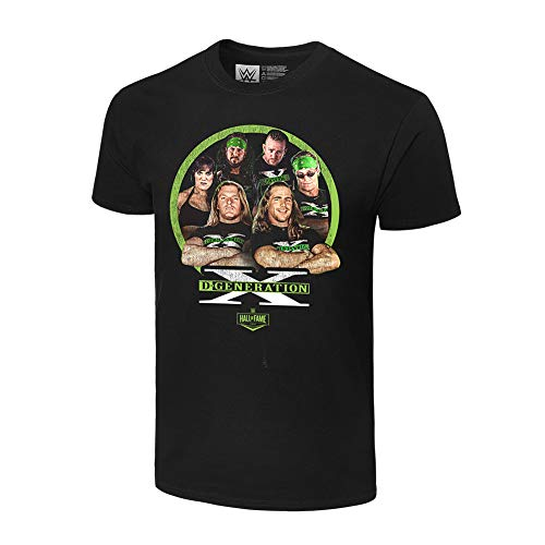 D-Generation X Hall of Fame 2019 Photo T-Shirt Black Small