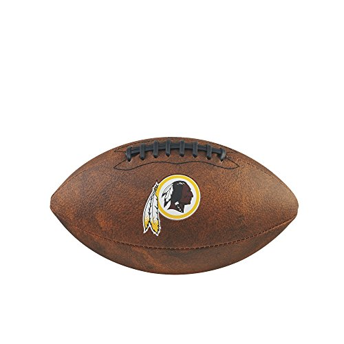 (NFL Junior Throwback Team Logo Football - Washington Redskins)
