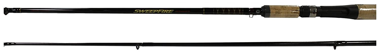 Daiwa Sweepfire Ultra Light Cast Rod, 2 Piece 4 Feet 6-Inch, Black