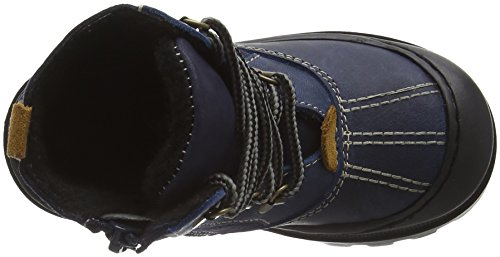 Captn Sharky Jungen 470722 Schneestiefel Blau (Blau)