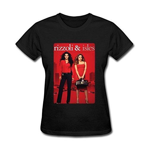SUNRAIN Women's Rizzoli And Isles Tv Poster T shirt