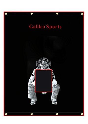 Galileo Baseball/Softball Tarpaulin Backstop Batting cage Target with Bungees