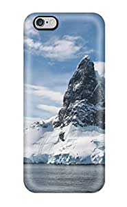 Anti-scratch And Shatterproof Glacier Phone Case For Iphone 6 Plus/ High Quality Tpu Case
