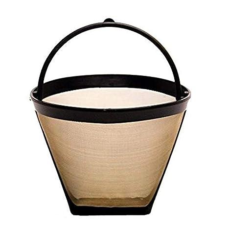 Amazon.com: Goldtone reutilizable 4 taza # 2 cono Filtro de ...
