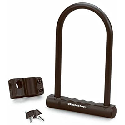 Master Lock 8170D Fusion U-Lock, 6-1/8 x 8-inch