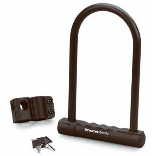 - Master Lock 8170D Fusion U-Lock, 6-1/8 x 8-inch