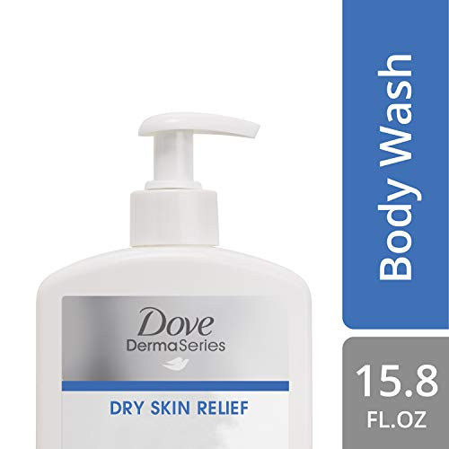 Dove Fragrance-Free Body Wash, for Dry Skin, 15.8 oz