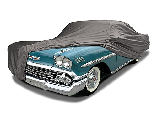 CarsCover Custom Fit 1958-1972 Chevy Impala / Bel Air / Biscayne Car Cover Ironshield Leatherette All Weatherproof Waterproof 100% Block Sun, Rain, Dust
