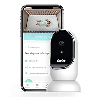 Owlet Cam Smart Baby Monitor - Secure, Encrypted HD Video from Anywhere, with Sound & Motion Notifications
