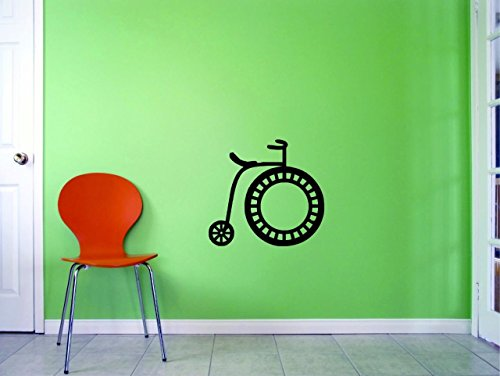 Top Selling Decals - Prices Reduced Penny Farthing Wall Art Size: 12 Inches X 18 Inches 22 Colors Available