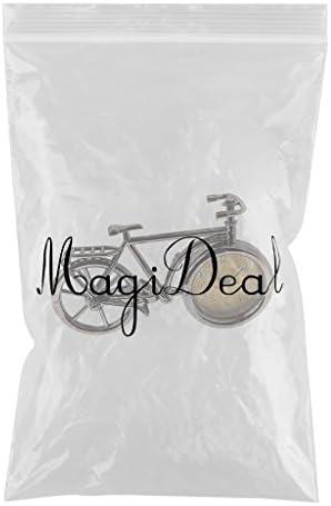 MagiDeal Cr/éatif R/éveil Vintage De Bicyclette R/éveiller Minuterie Chambre D/écoration Ornement