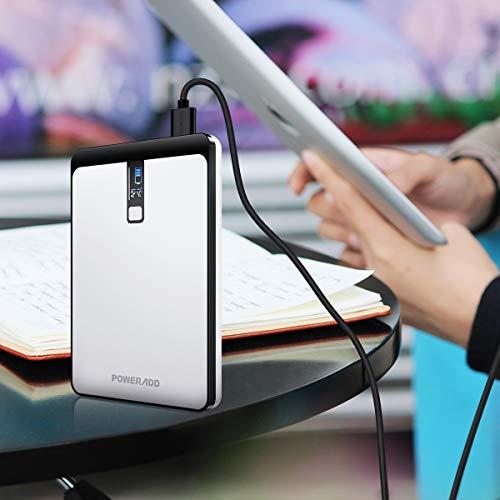POWERADD Pilot Pro2 23000mAh Power Bank 4.5A DC (5V/9V/12V/16V/19V/20V, 3 Ports) Output External Battery with LCD Display for MacBook, Laptops, Smartphones and Tablets